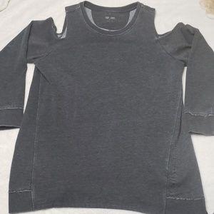 Calvin Klein Cold Shoulder Sweatshirt